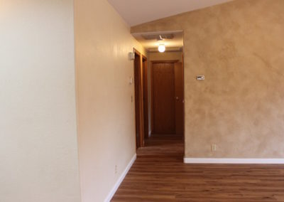 Hall into bedrooms