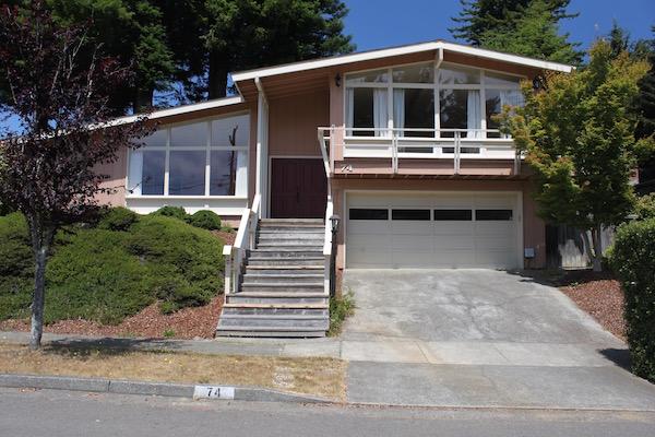Custom Home in the Redwoods
