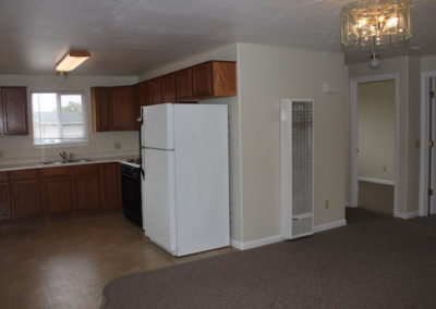 Kitchen into Hall