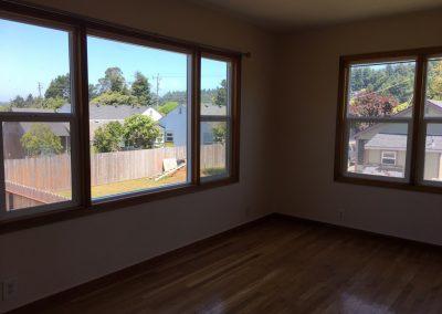 Living Room North Windows