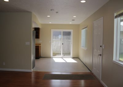 Entry and Kitchen